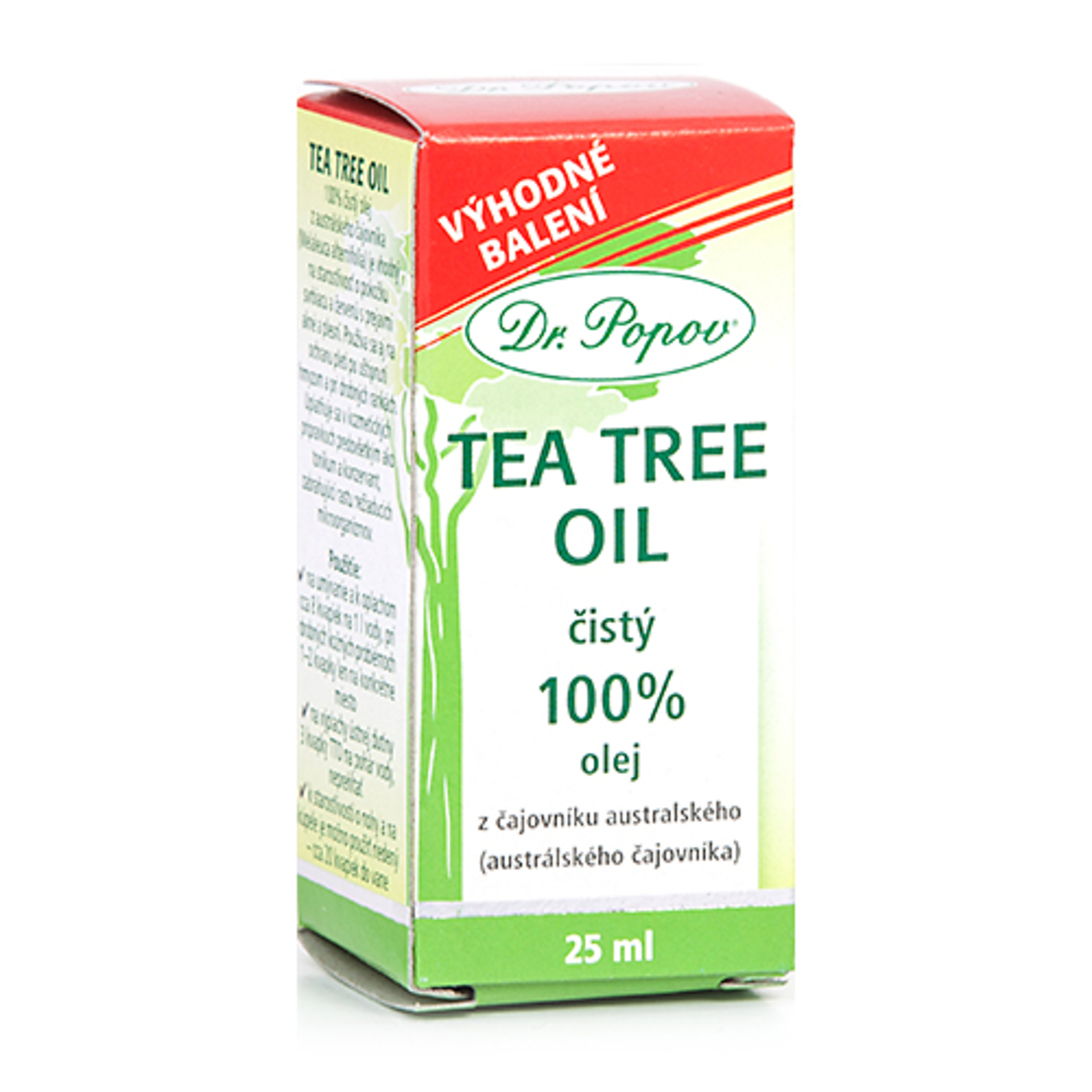 Dr. Popov Tea tree oil 100% 25 ml