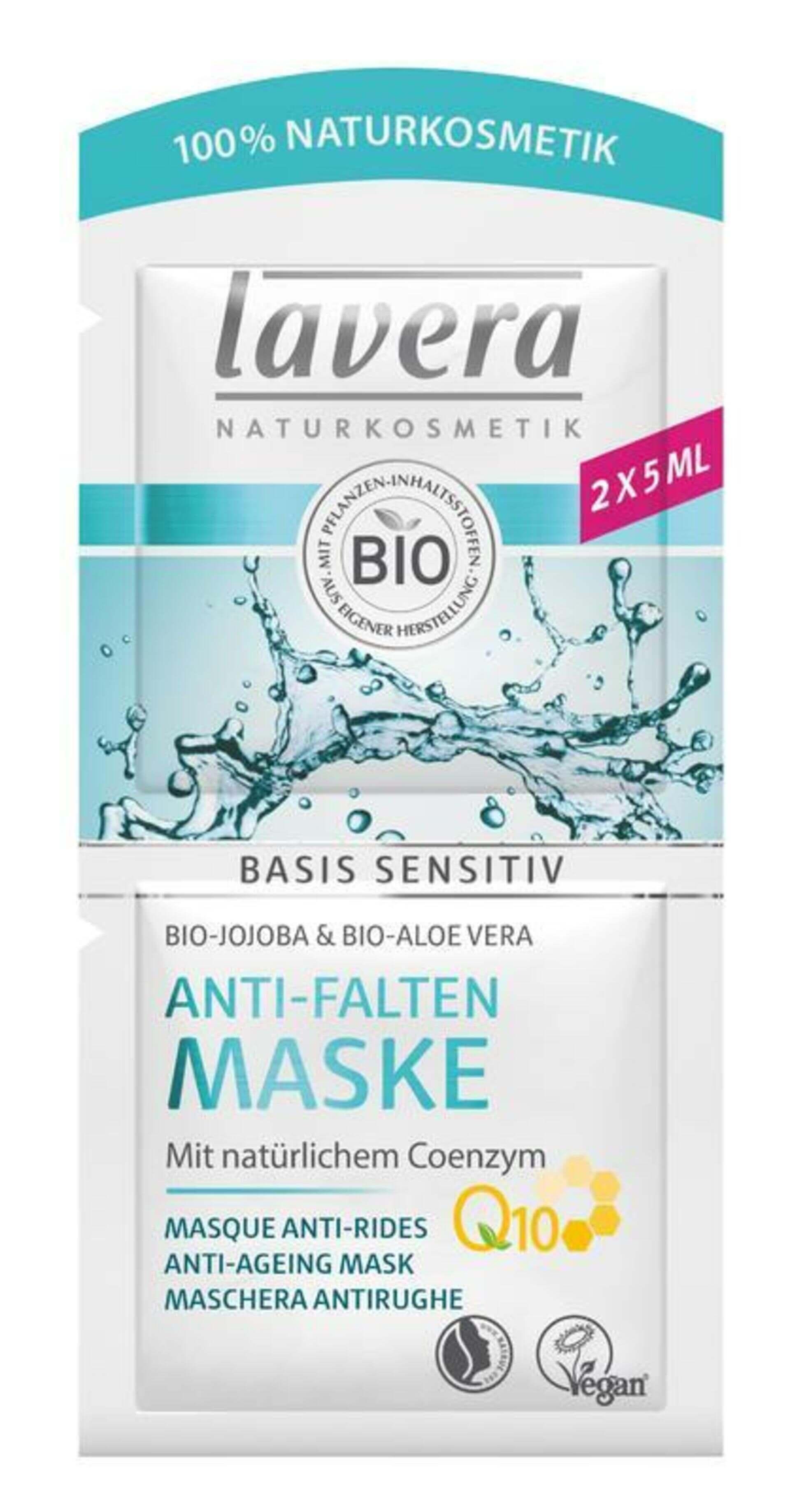 lavera Basis Maska Q10 2x5 ml