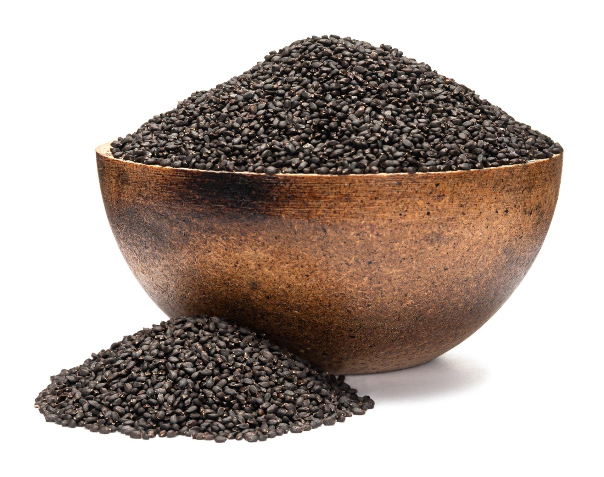 Levně GRIZLY Bazalka BIO semínka na klíčení 250 g - expirace