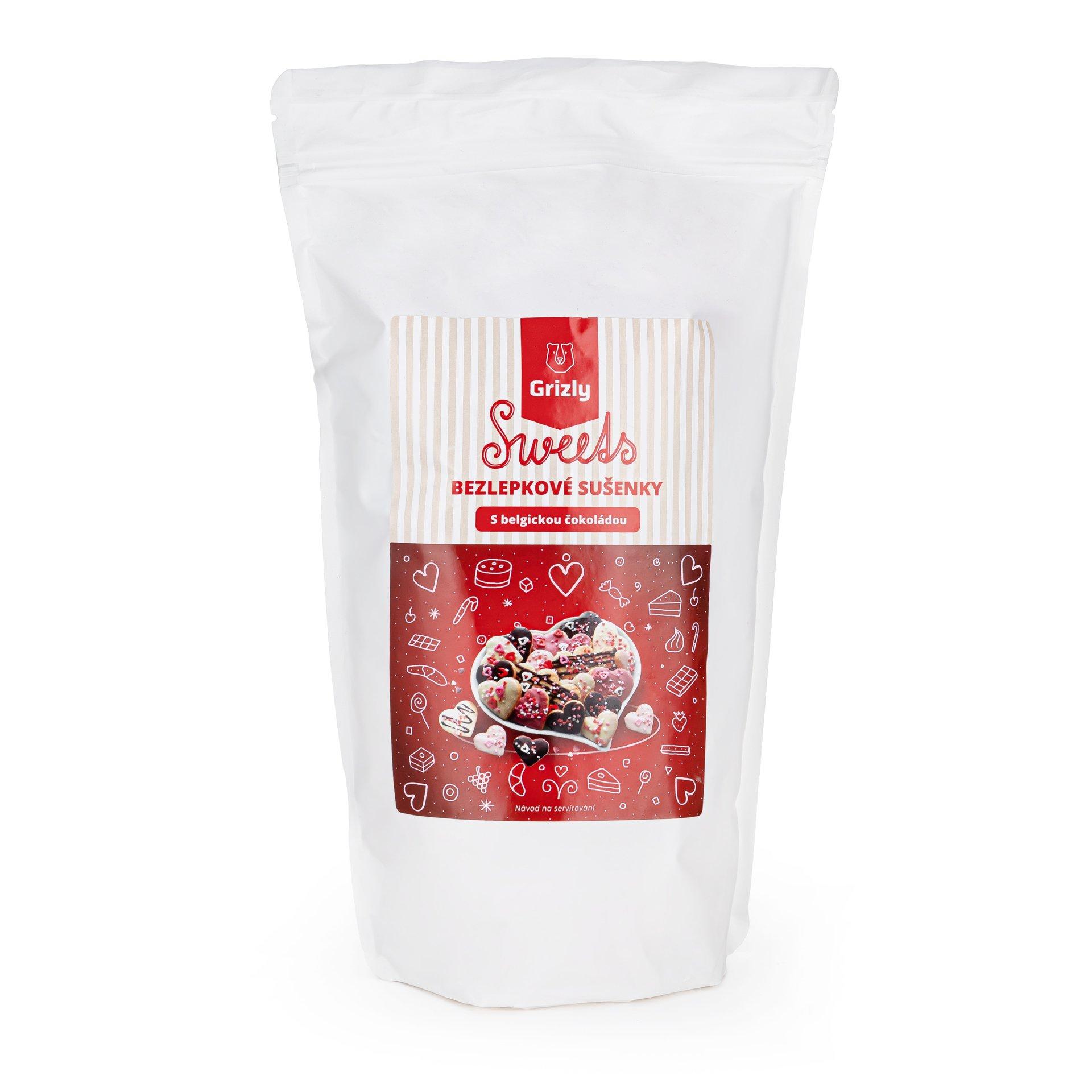 GRIZLY Sweets Směs na zamilované sušenky bezlepkové 640 g