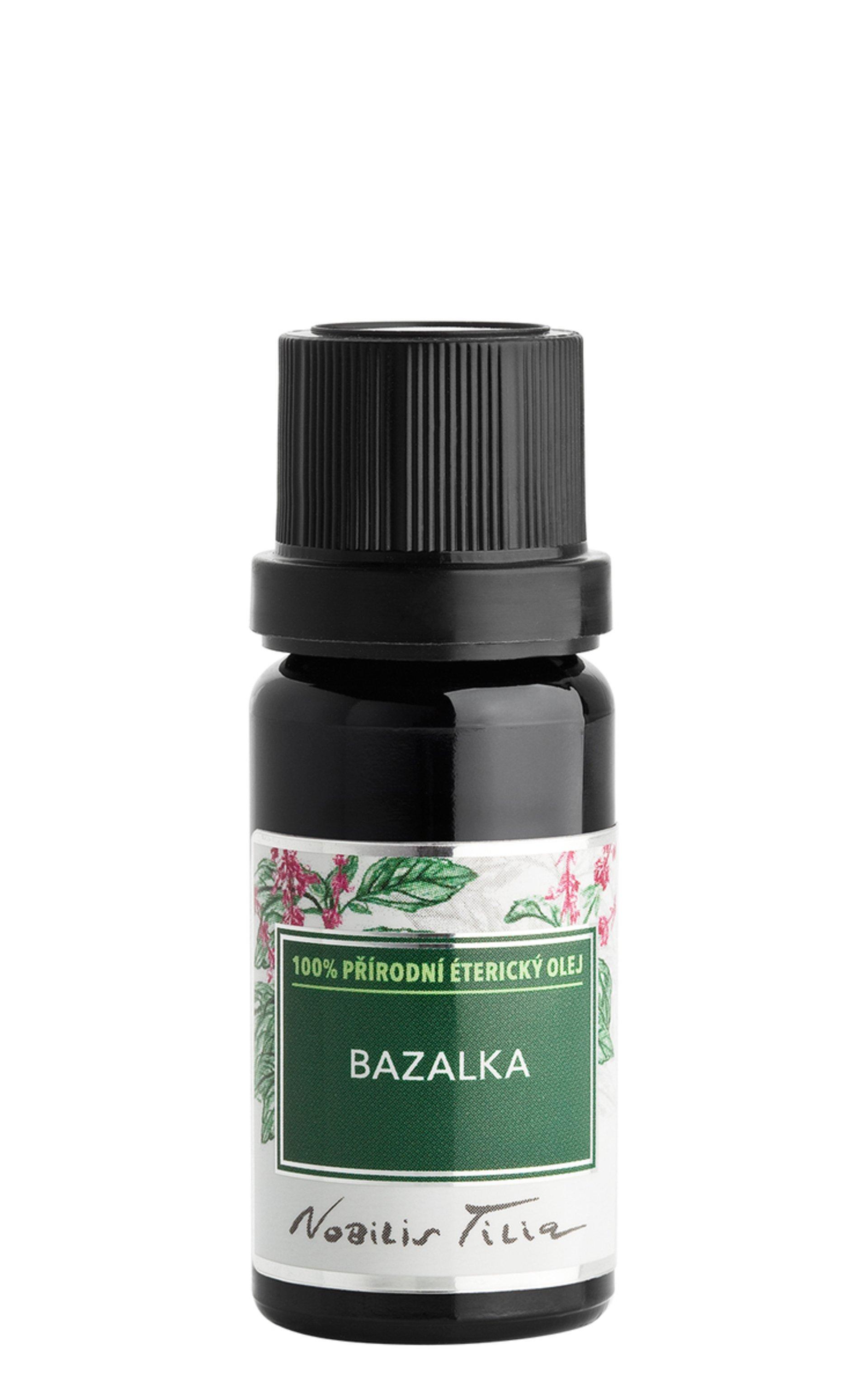 Levně Nobilis Tilia Éterický olej Bazalka 10 ml