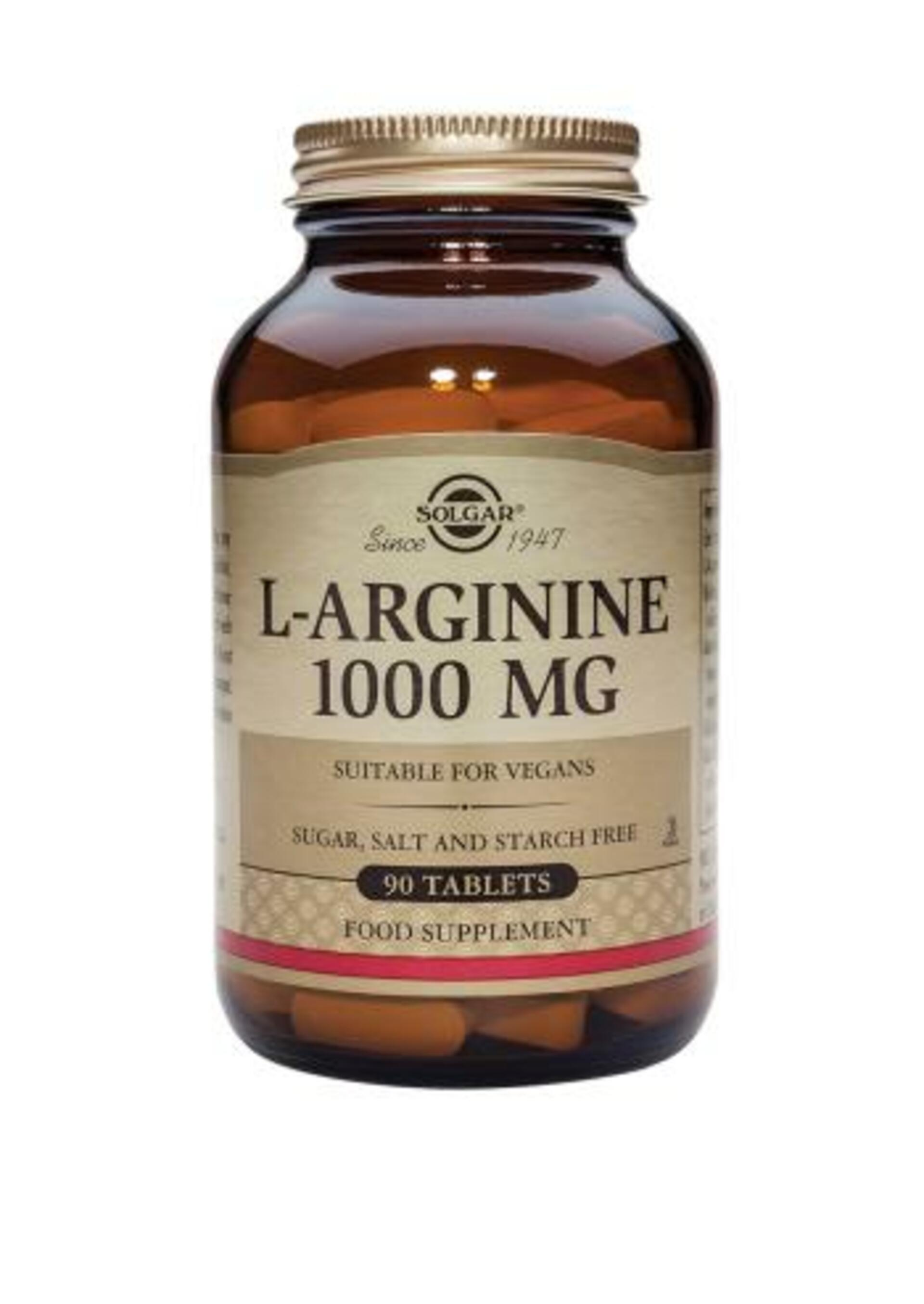 Solgar L-Arginin 1000 mg 90 tablet
