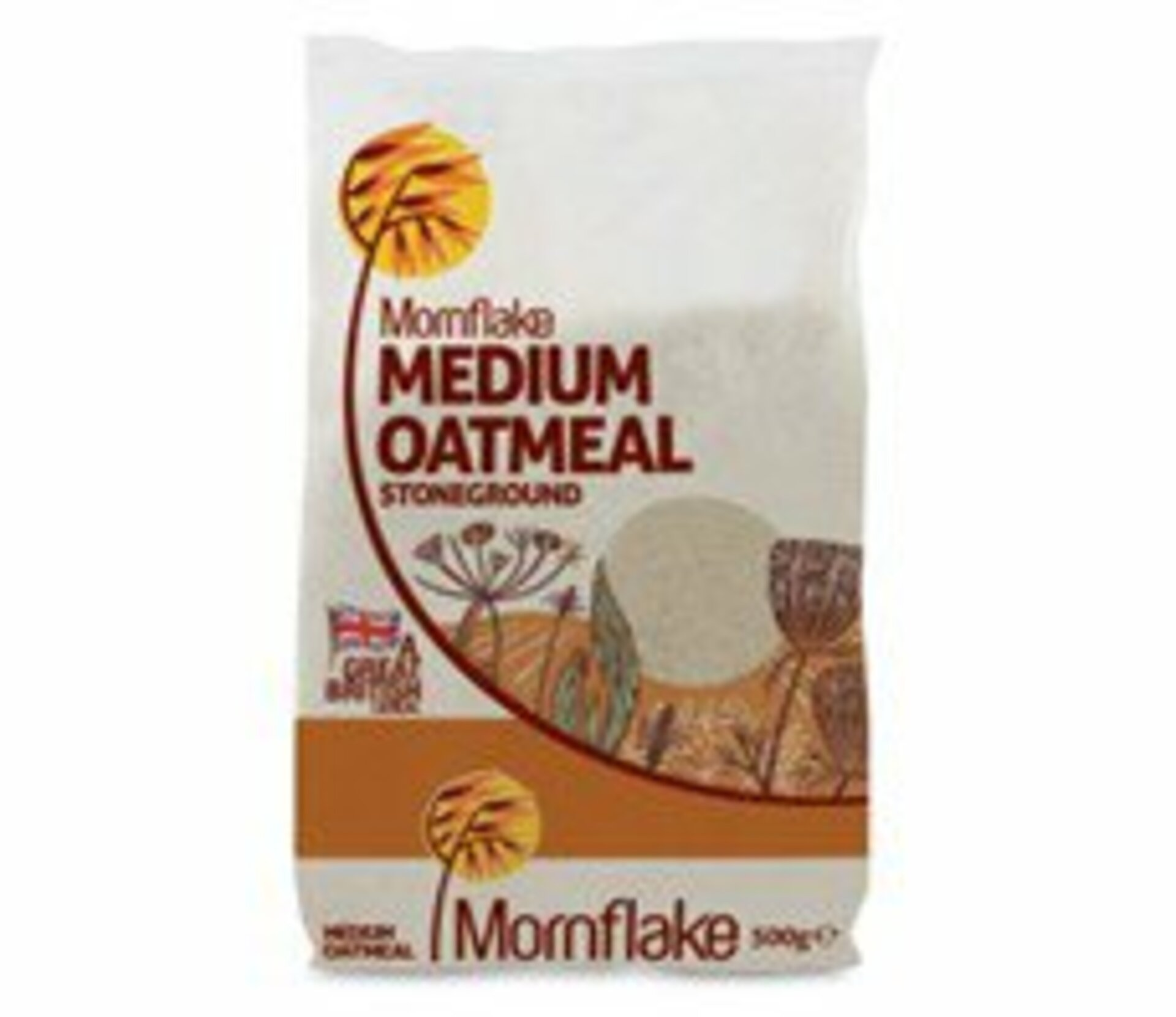 Mornflake Medium Oatmeal 500g