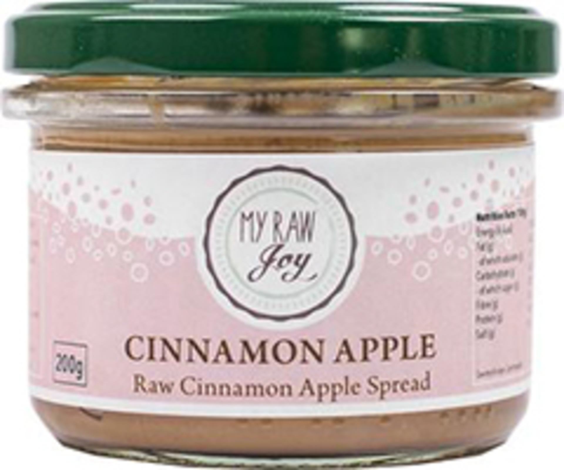 My Raw Joy Cinnamon/apple spread 200 g