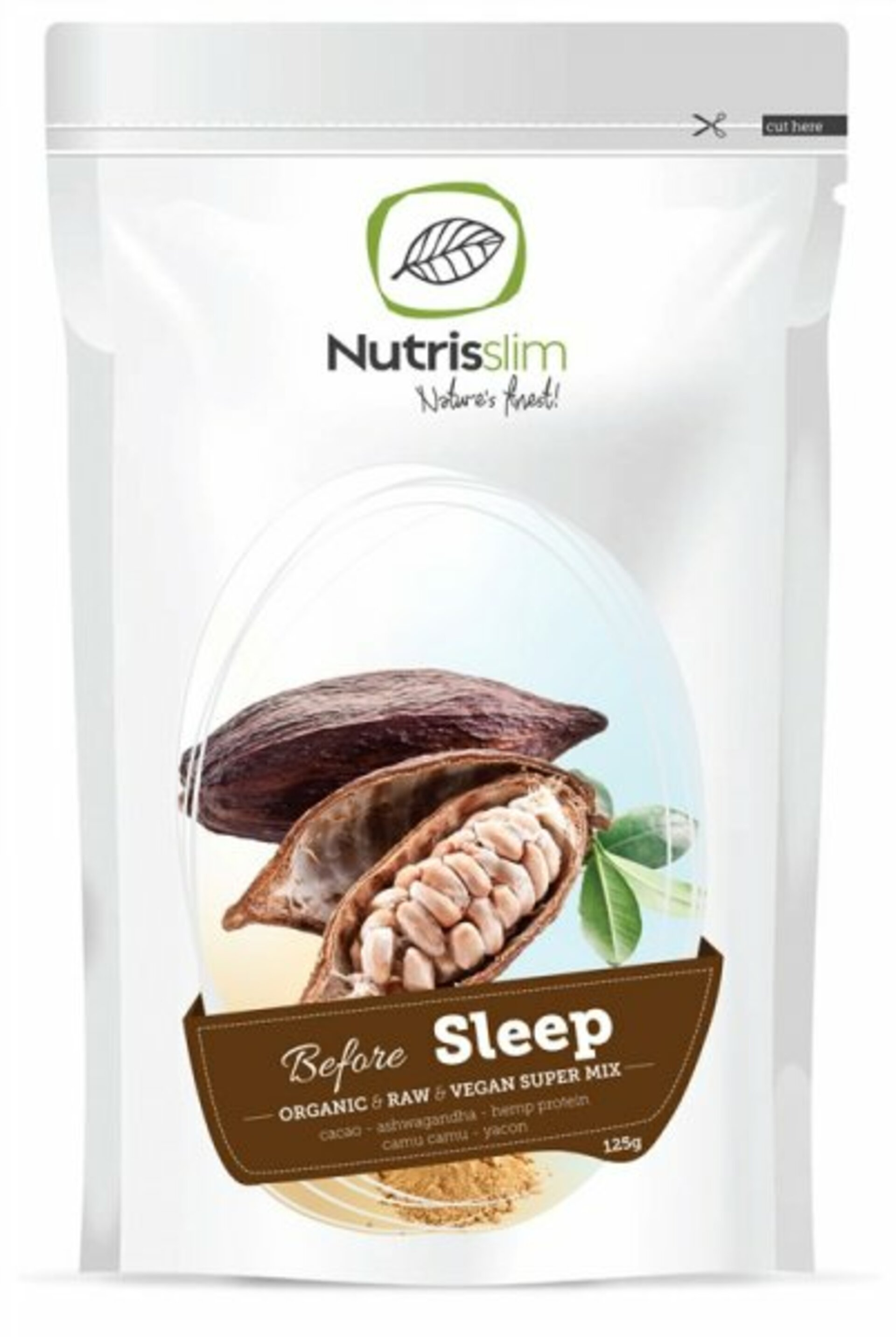 Nutrisslim Before sleep supermix BIO 125 g