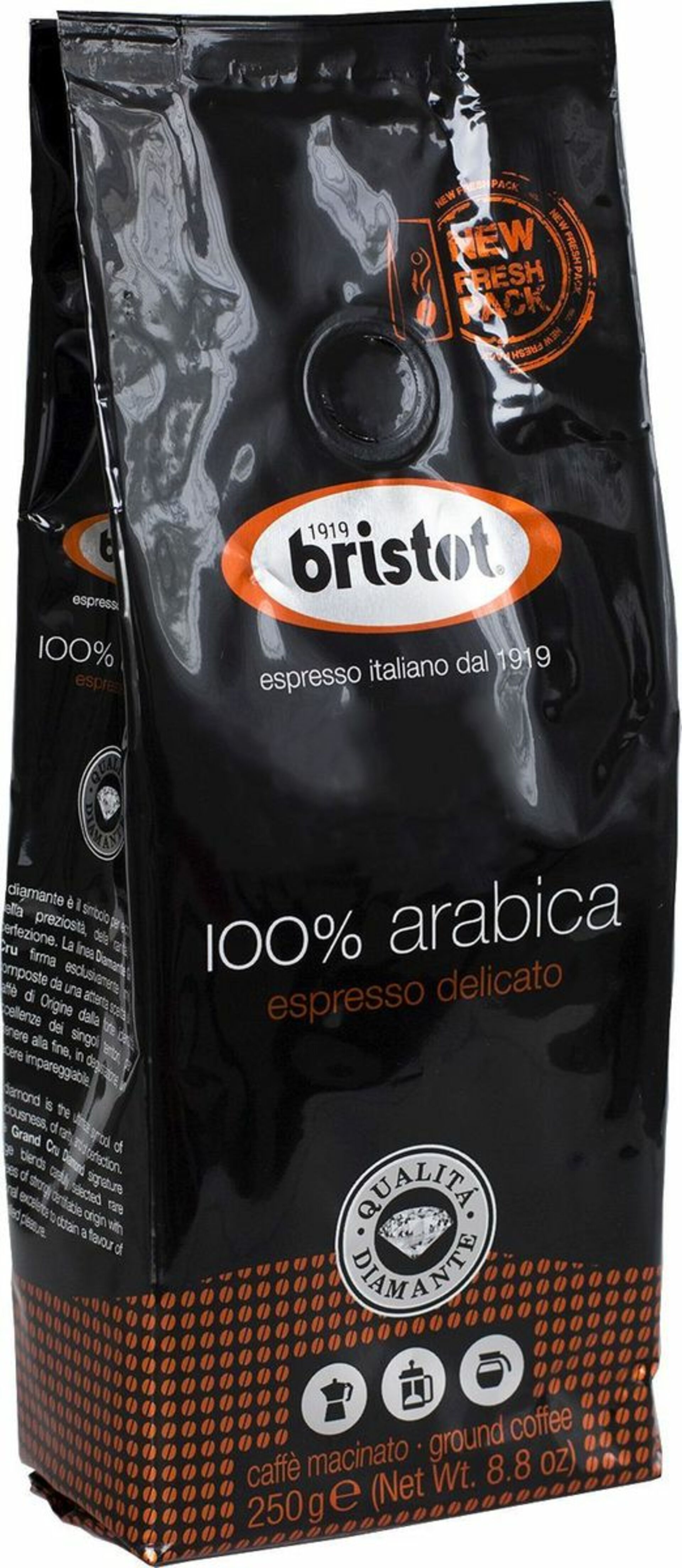 Bristot Diamante Arabica 250 g
