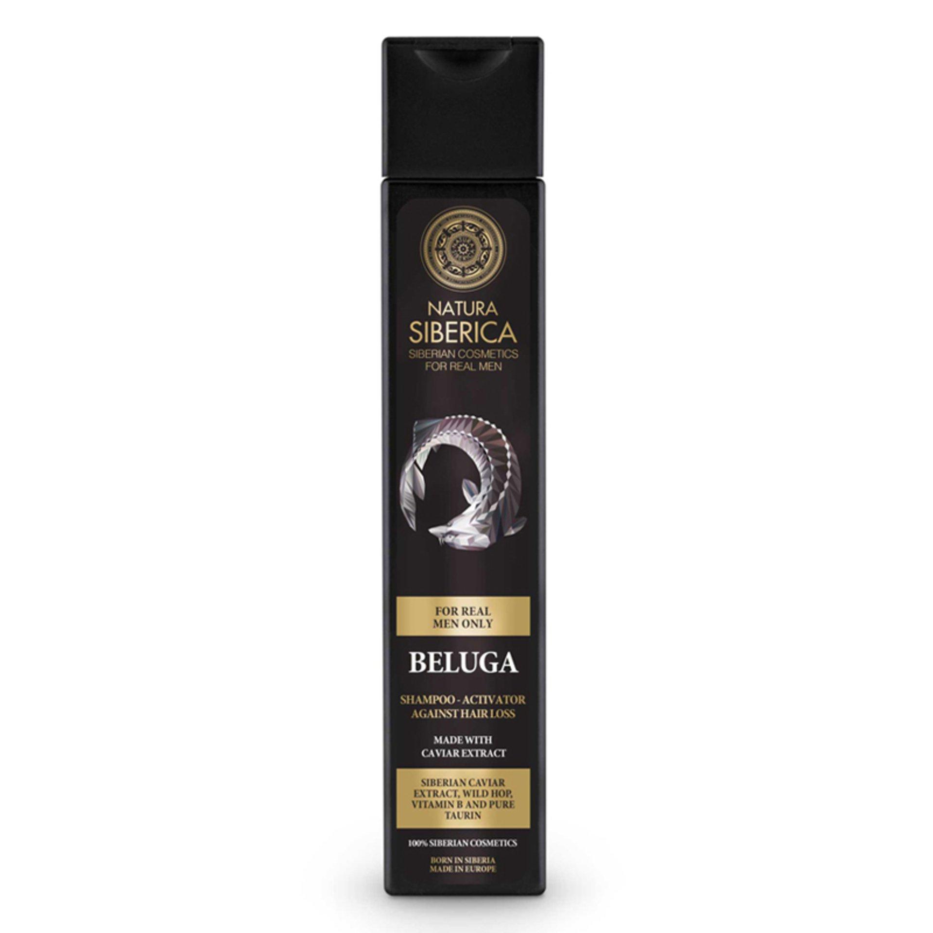 Levně Natura Siberica MEN Šampon pro růst vlasů - Beluga 250 ml