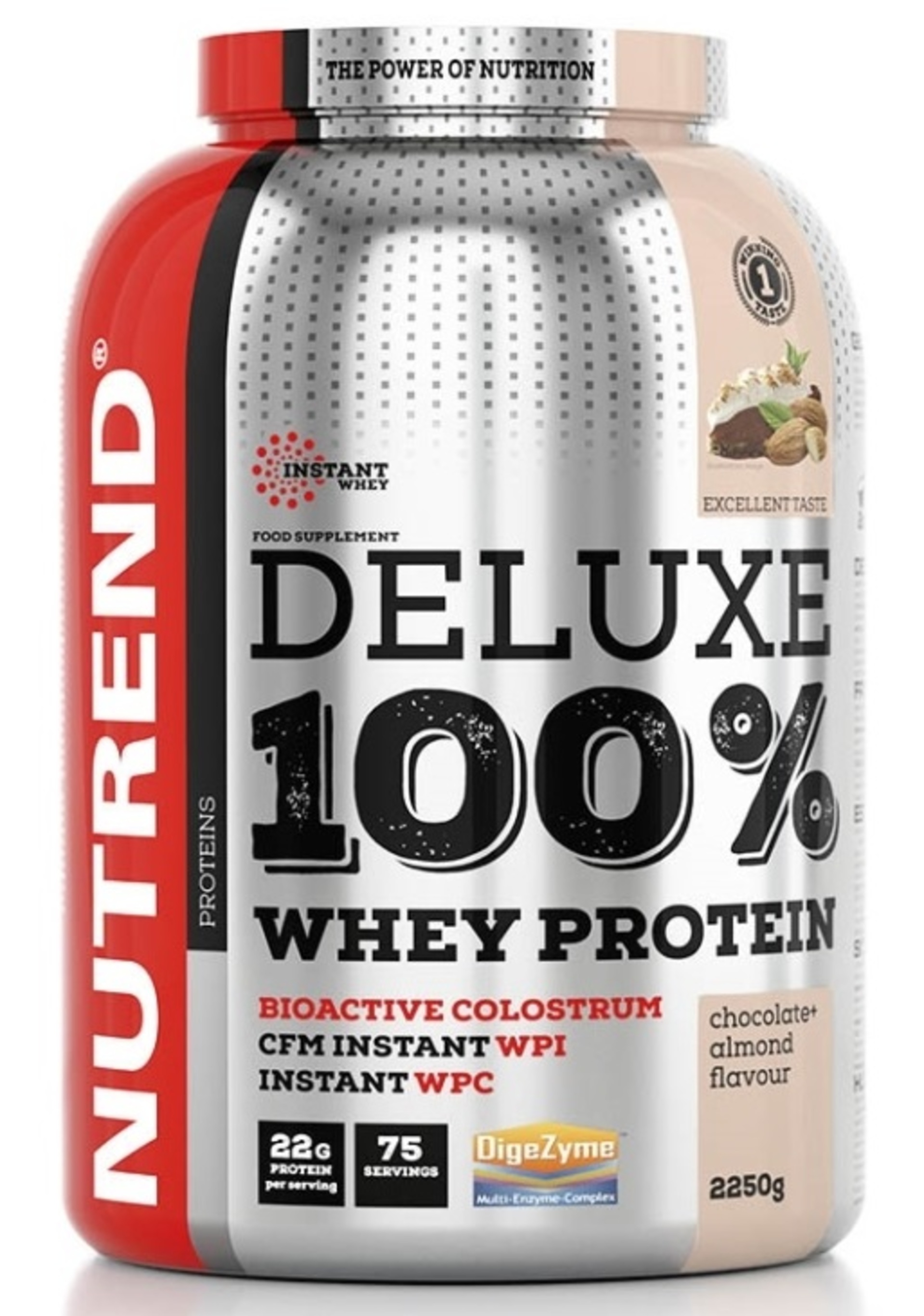 Nutrend Deluxe 100% Whey 2250 g