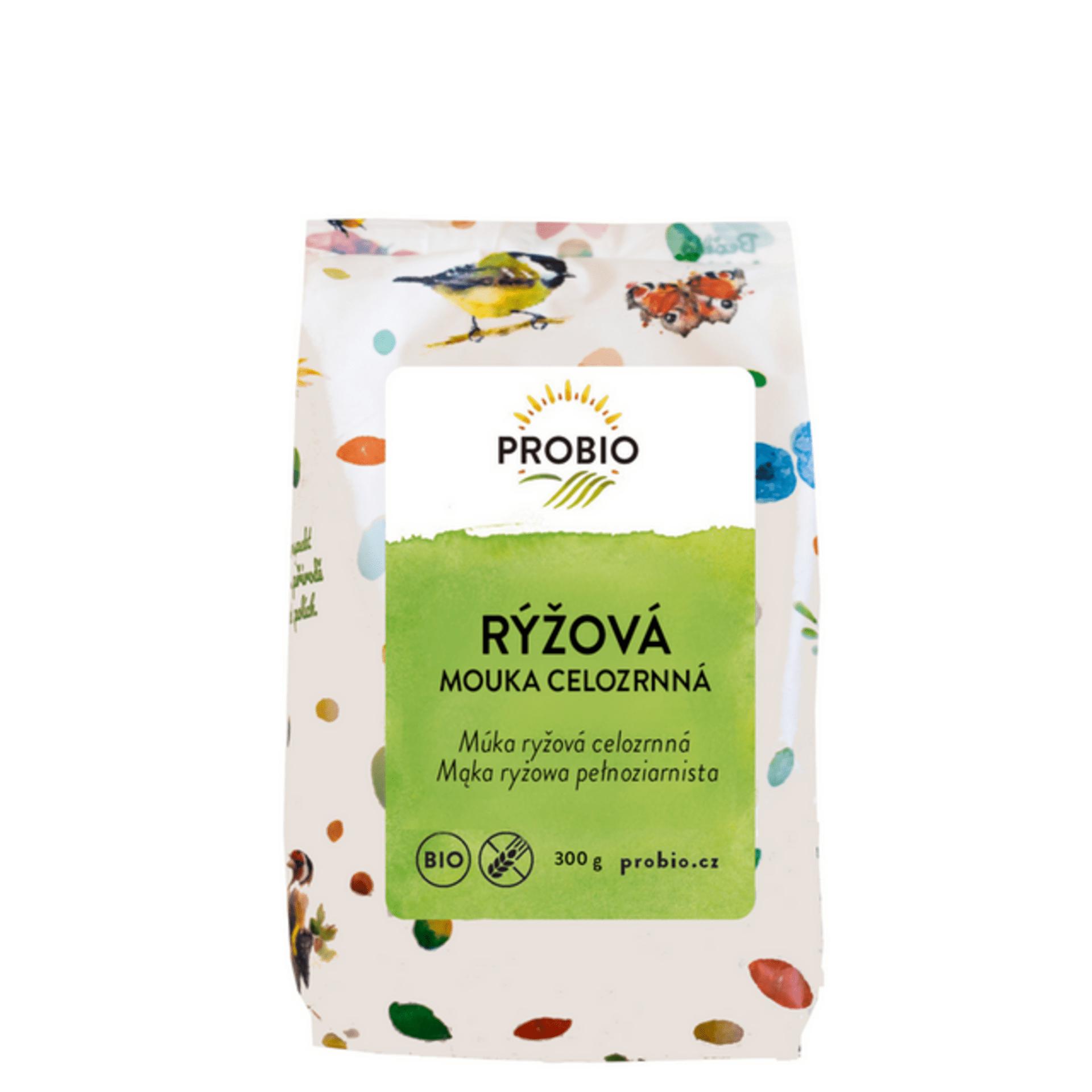 Probio Rýžová mouka celozrnná BIO 300 g