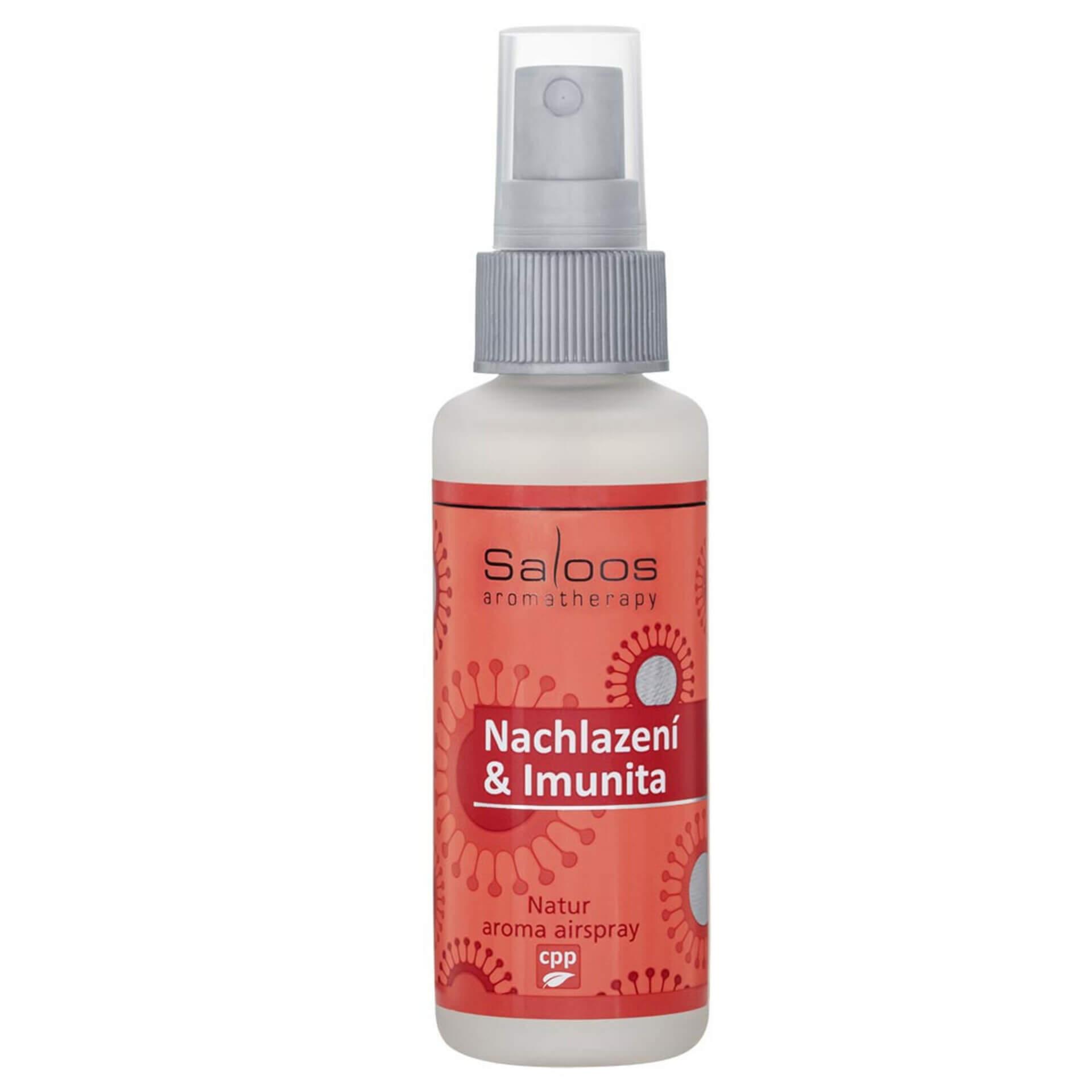 Saloos Natur aroma airspray Nachlazení & Imunita 50 ml