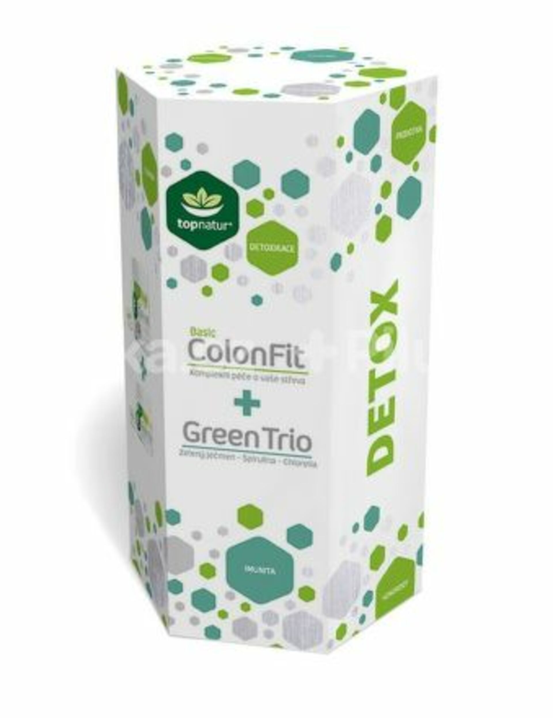 Topnatur DETOX - ColonFit Basic + Green Trio