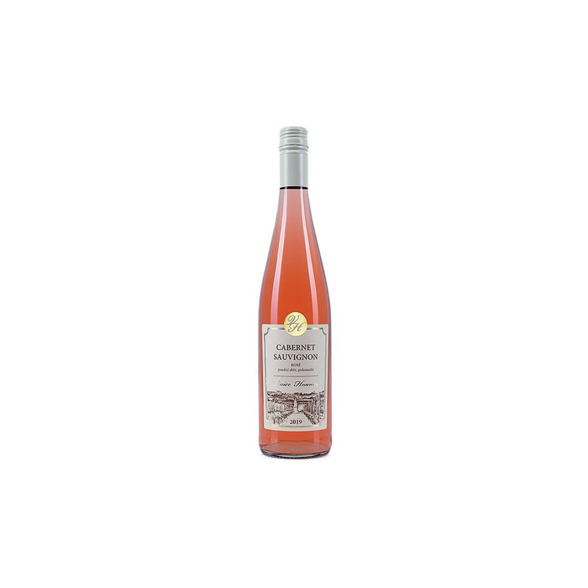 Levně Vinice - Hnanice Cabernet Sauvignon rosé 2019 pozdní sběr polosuché 0,75 l