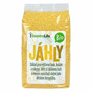 Country Life Jáhly BIO 500 g
