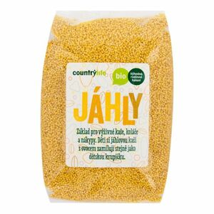 Country Life Jáhly BIO 1 kg