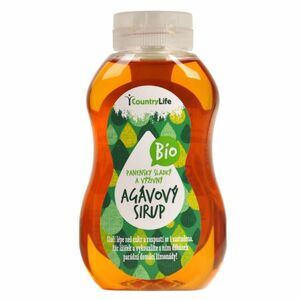 Country Life Sirup agávový BIO 250 ml