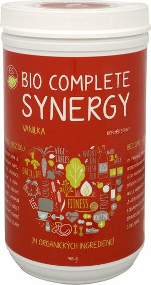 Empower Supplements Complete synergy vanilka BIO 465 g