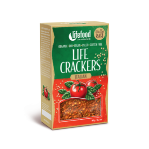 Lifefood Life Crackers Italské BIO RAW 90 g