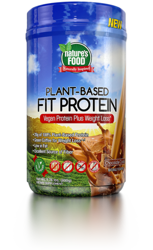Nature's Food Plant Based Fit Protein 800 g - vanilka