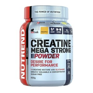 Nutrend Creatine Mega strong powder 500 g - expirace
