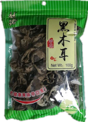 Couronne Dried Black Fungus (střapaté) 100g