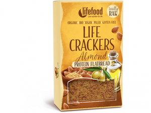 Lifefood Life Crackers Chlebánek BIO RAW 80 g