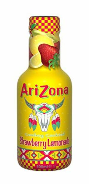 AriZona Strawberry lemonade 500 ml
