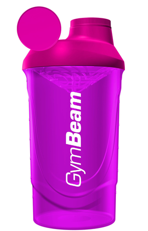 GymBeam Shaker růžový 600 ml