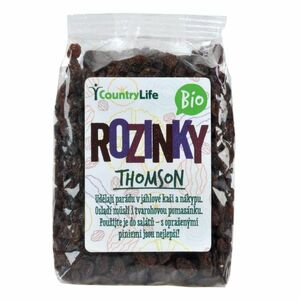 Country Life Rozinky Thomson 500 g BIO