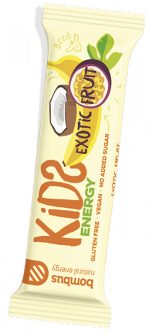 Bombus Kids Energy 40g - Exotic fruit
