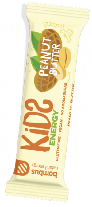 Bombus Kids Energy 40g - peanut butter
