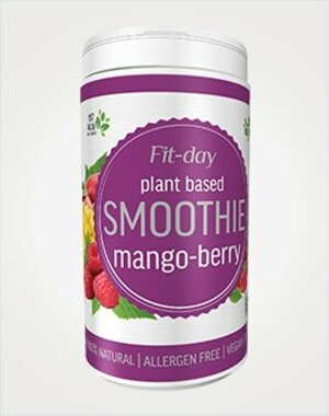 Fit-day Smoothie Mango/malina 600 g