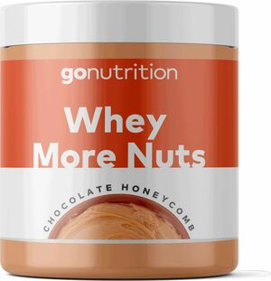 GoNutrition Whey More Nuts 250 g čokoláda/honeycomb