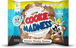 Madness Nutrition Cookies Banana Chunky Monkey 106 g
