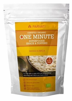 Iswari One minute superfoods snack topping - MANGO a MACA 300 g