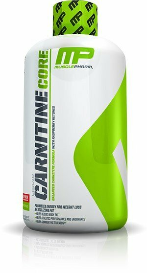 MusclePharm Carnitine Core citron 473 ml