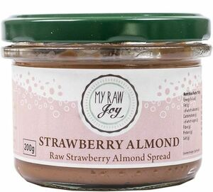 My Raw Joy strawberry/almond spread 200 g