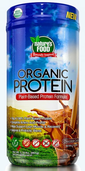 Nature's Food Organic Protein 990 g