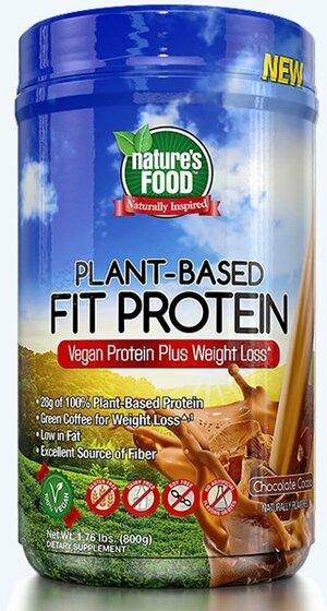 Nature's Food Plant Based Fit Protein 800 g