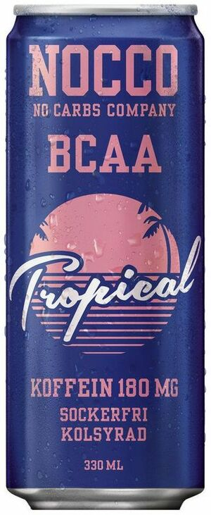 NOCCO BCAA tropical 330 ml