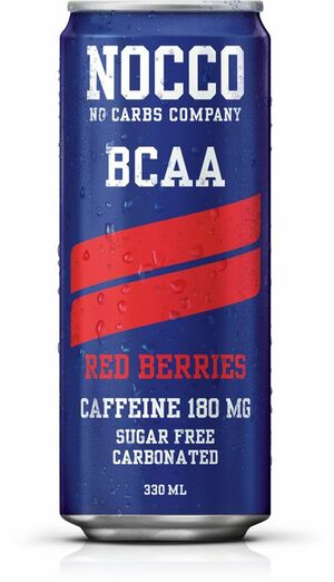 NOCCO BCAA red berries 330 ml
