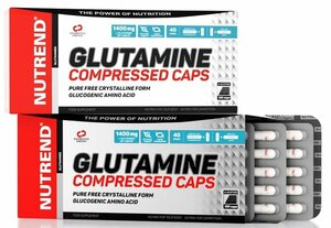 Nutrend Glutamine compressed 120 kapslí