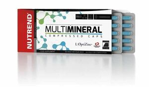 Nutrend Multimineral Compressed Caps 60 kapslí - expirace