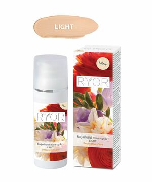 RYOR Rozjasňující make-up 8v1 LIGHT 30 ml