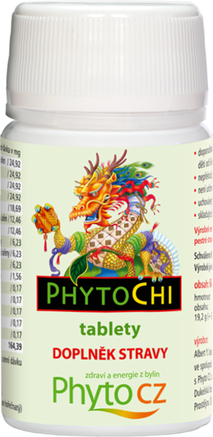 PhytoChi PhytoChi tablety (energie z bylin) 64 tablet
