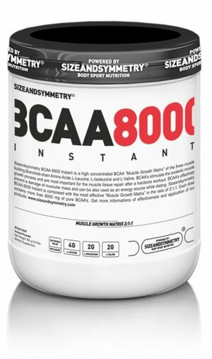 SizeAndSymmetry BCAA 8000 Instant Powder 300 g