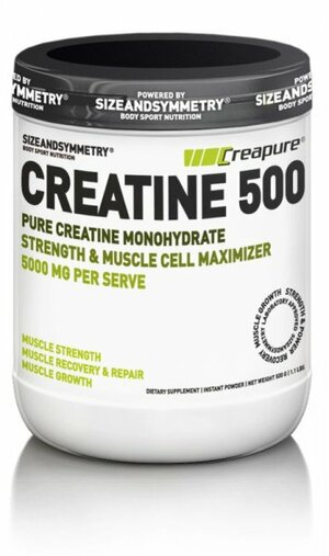 SizeAndSymmetry Creatine Creapure 500 g
