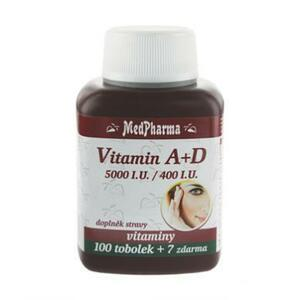 MedPharma Vitamin A+D 107 tablet
