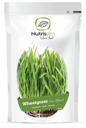 Nutrisslim Wheatgrass Powder (New Zealand) BIO 125 g - expirace