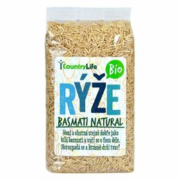 Country Life Rýže basmati natural BIO 500 g