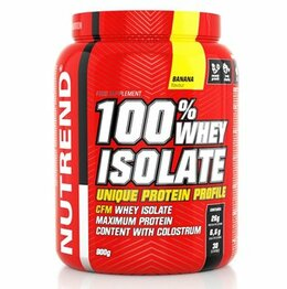 Nutrend 100 % whey isolate 900 g